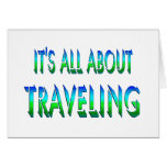 All About Traveling Greeting Cards