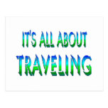 All About Traveling Post Cards