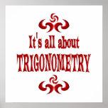 ALL ABOUT TRIGONOMETRY PRINT