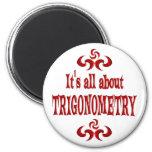 ALL ABOUT TRIGONOMETRY REFRIGERATOR MAGNET