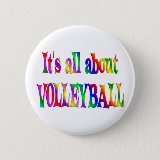 All About Volleyball Button