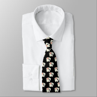 All Aces Small Print On Any Color Tie