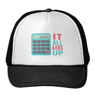 All Adds Up Trucker Hat
