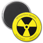 All against ... Nuclear power! Fridge Magnets