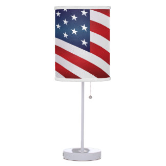 All Amercan Table Lamp