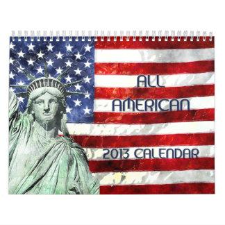 ALL AMERICAN 2013 Calendar