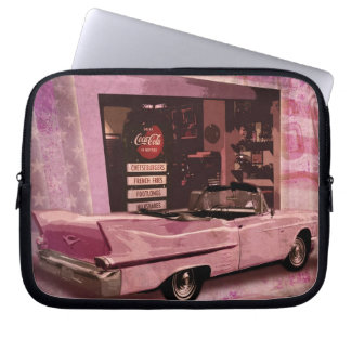All American 50s Collage Laptop Sleeve