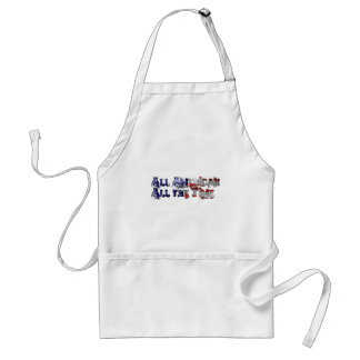 All American All the Time Adult Apron