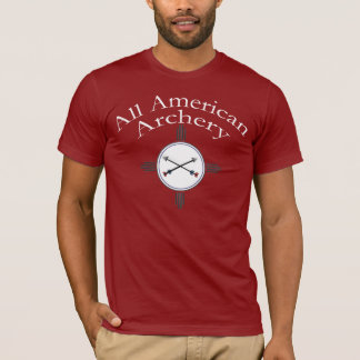 All American Archery Coach's Shirt - Red