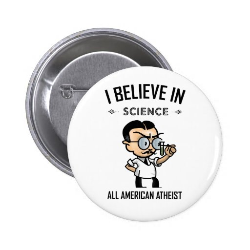 All American Atheist Pinback Button