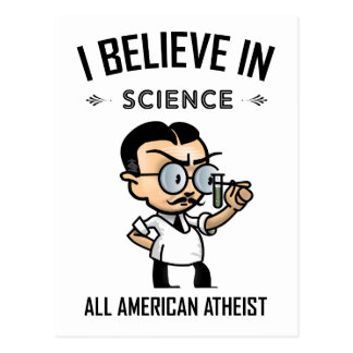 All American Atheist Postcard