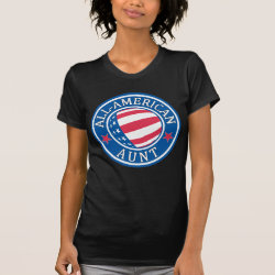 All-American Aunt Women's American Apparel Fine Jersey Short Sleeve T-Shirt