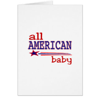 All American Baby Card