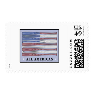 All American Baseball T-shirts and Gifts. Postage