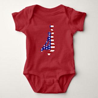 All-American Basketball Player Baby Bodysuit