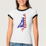 All-American Basketball Player T-Shirt