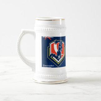 All American Basketball Retro Poster Coffee Mugs