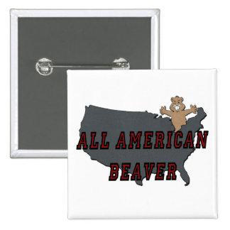 All American Beaver Pins