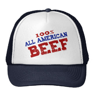 All American Beef Hat