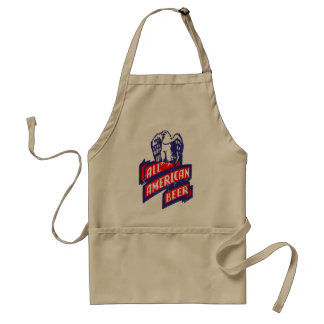 All American Beer Adult Apron