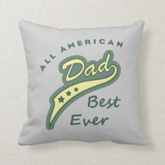 all american best dad ever col 1 pillow