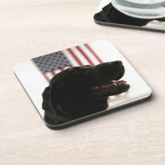All-American Black Labrador Retriever Coaster