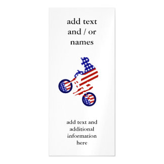 All-American BMX Rider Magnetic Card