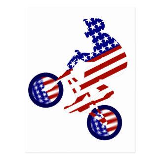 All-American BMX Rider Postcard