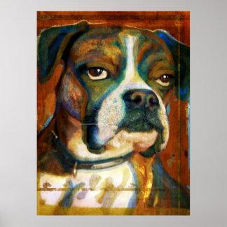 All-American Bulldog Poster