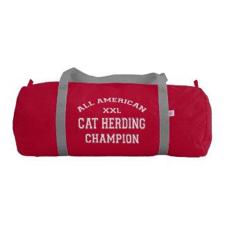 All American Cat Herding Champion Gym Bag
