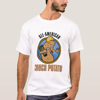 All-American Couch Potato (customizable) T-Shirt