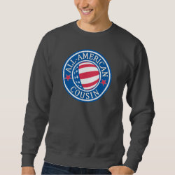 All American Cousin Men's Basic Sweatshirt