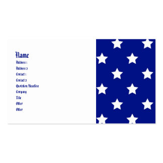 All American Customizable Patriotic Biz Cards Double-Sided Standard Business Cards (Pack Of 100)