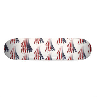 All American Cyclist -  Zooming By! Skateboard Deck