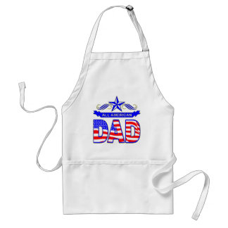 All American Dad Adult Apron