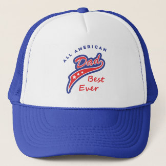 all american dad best ever style 2 trucker hat