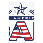 All American Dad Customized Stationery