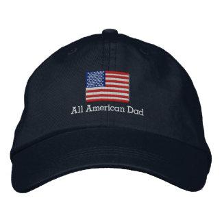 All American Dad Flag Hat