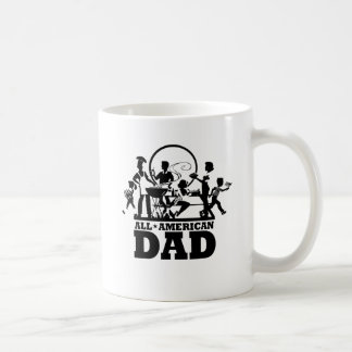 All American Dad Classic White Coffee Mug