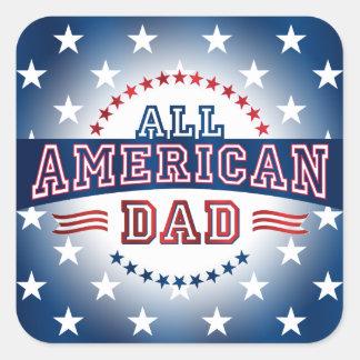 All-American Dad Sticker