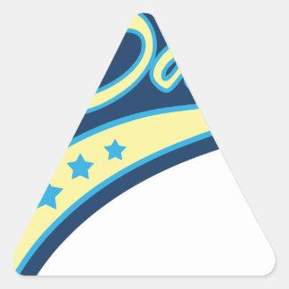 All American Dad Triangle Sticker