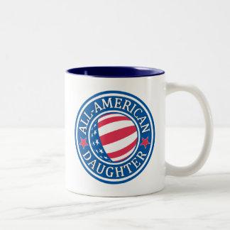 All-American Daugher Two-Tone Coffee Mug