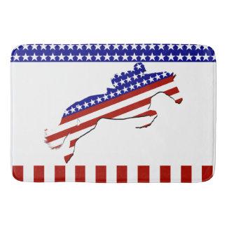 All-American Equestrian Rider Bath Mat