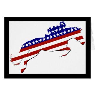 All-American Equestrian Rider Card