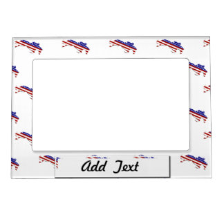 All-American Equestrian Rider Magnetic Photo Frame