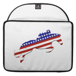 All-American Equestrian Rider Sleeve For MacBook Pro