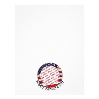 All American Father s Day Frame Flyer