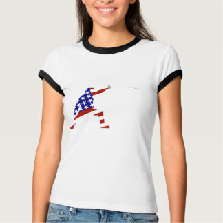 All-American Fencer / Fencing T-Shirt