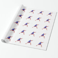 All-American Fencer / Fencing Wrapping Paper