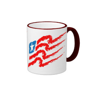 All American Flag Mug